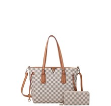 First Class Handbag Set - White