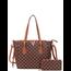 First Class Handbag Set - Brown