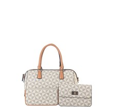 Going Places 3PC Handbag Set - White