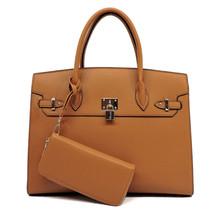 Upgrade You Handbag Set - Tan