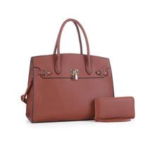 Upgrade You Handbag Set - Brown