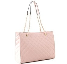 Go Big Quilted Bag - Blush