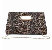 Body Moves Leopard Bag - Coffee