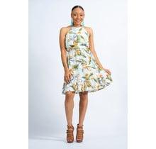 Good Times Floral Dress - Ivory