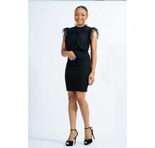 Complete My Heart Dress - Black