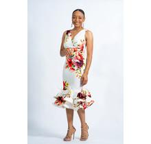Feeling It Floral Ruffle Dress