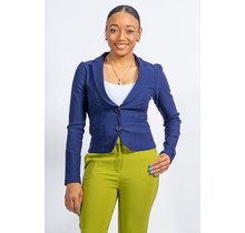 She Means Business Blazer - Navy