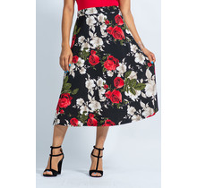 A Floral Story Skirt