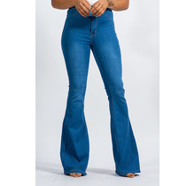 Keeping Up Bell Bottom Jeans