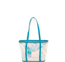 Clear My Name Tote - Turquoise