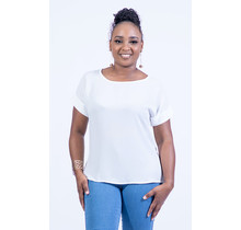 Legacy Folded Top - White