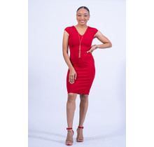Pure N Simple Dress - Red