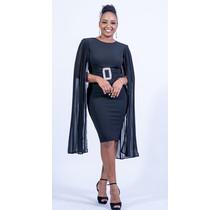 One Night Stand Bodycon Dress - Black