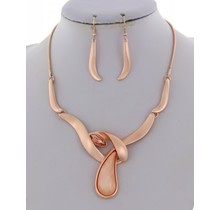 Pure N Simple Necklace Set - Rose Gold