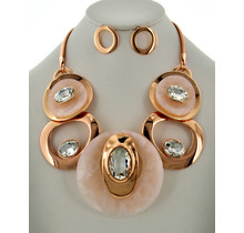 The Right Stuff Necklace Set - Rose Gold