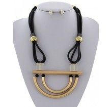 Bolted in Place Necklace Set
