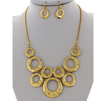 Many More Necklace Set - Gold