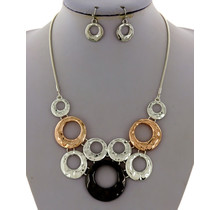 Many More Necklace Set -Silver