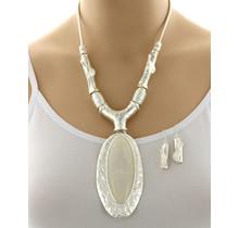 Mirror Image Necklace Set