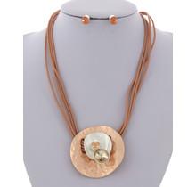 Blending In Necklace Set - Rose Gold