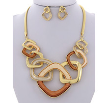 More of It Necklace Set - Gold