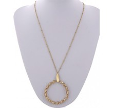 Oh Well Necklace - Rose Gold