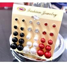 Festive Season Knob Pack Earrings