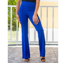 Always Ready High Waist Pants - Royal Blue