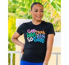 God Is Good Embellished T-Shirt