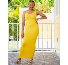 Top Trend Maxi Dress - Yellow