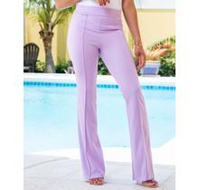 Always Ready High Waist Pants - Lilac