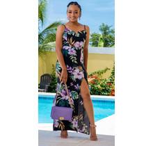 Island Flower Maxi Dress