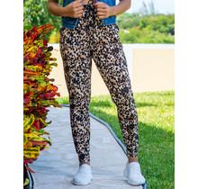 Wild Side Leopard Joggers