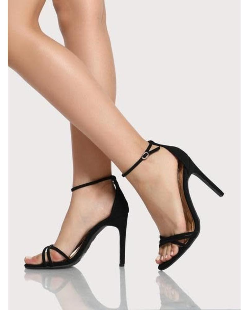 Never Wrong Heels - Black Patent