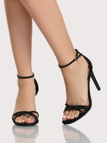 Never Wrong Heels - Black Patent
