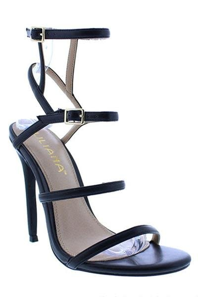 Baddie Boo Heels - Black
