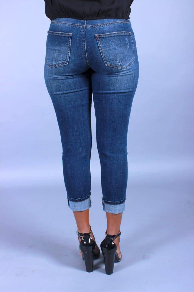 No Games Boyfriend Jeans