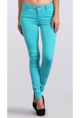 Aqua Basics Mid Rise Skinny Pants
