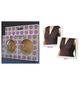 Silicone Nipple Covers - Nude