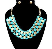 Fluttered in Color Necklace Set
