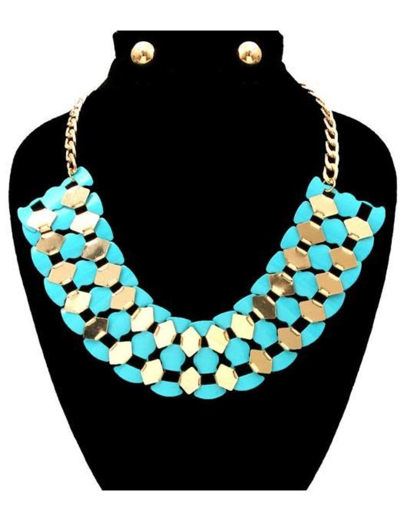 Fluttered in Color Necklace Set