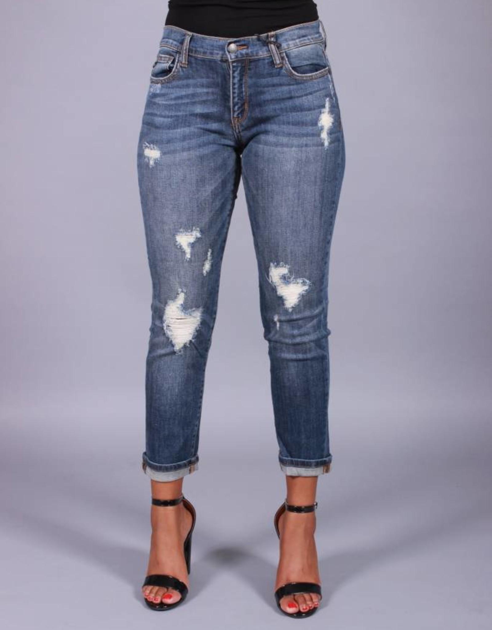 Chillax Distressed Jeans