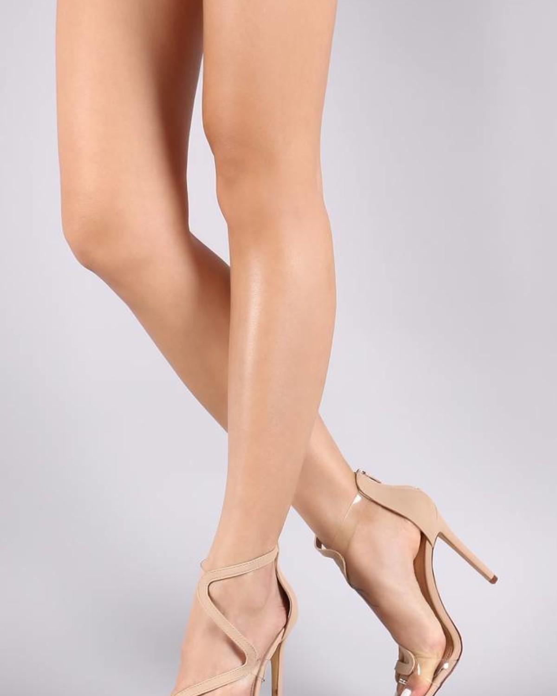 Blurred Lines Heels