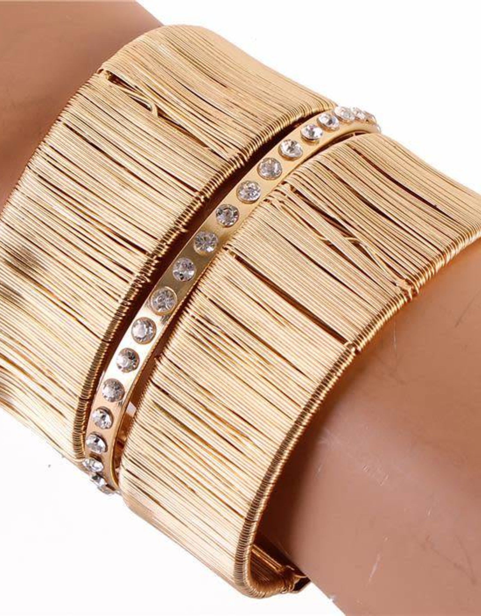 Between The Lines Cuff Bracelet
