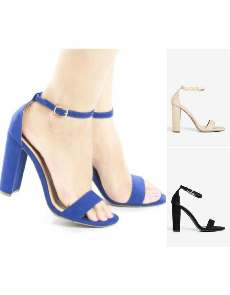 Blocked Out Heels