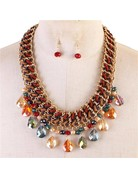 Drip Drop Necklace Set
