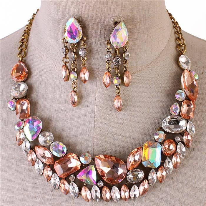 Ancient Art Necklace Set