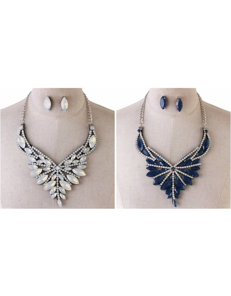 Silent Whispers Necklace Set