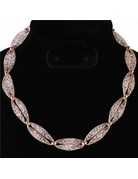 Crystals Entwined Necklace