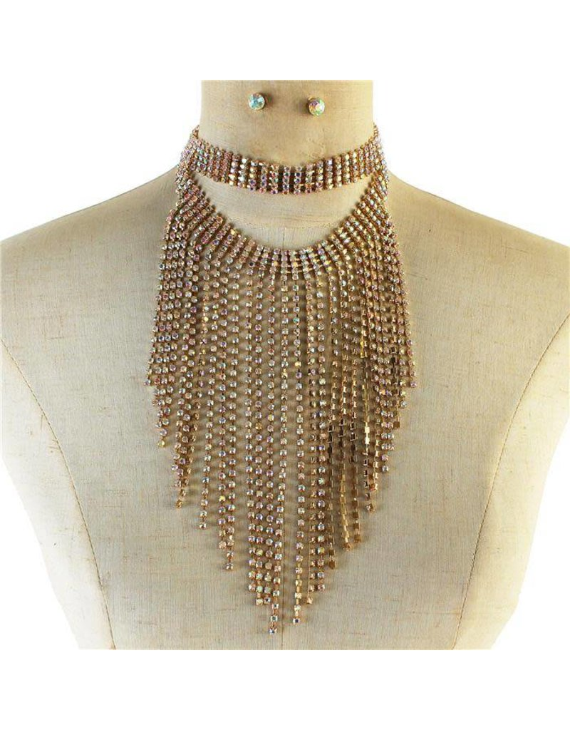 All About the Bass Necklace Set